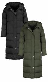 Puffer jacket long