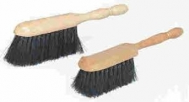 schilder stoffer Biggetje zwart haar