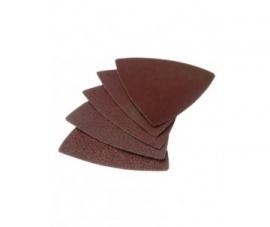 Schuurpad driehoek Vele groftes. 5 Stuks