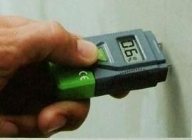 Digitale vochtmeter voor hout