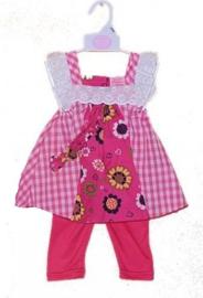 Sweet Elegance 2-delig baby pakje tuniek en legging  RESTANT VERKOOP