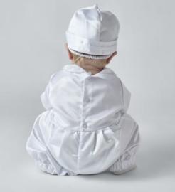 Baby dooppakje / doopromper Michael wit