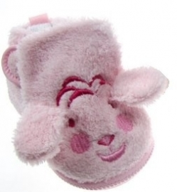 Soft Touch puppy baby slofje roze - div maten