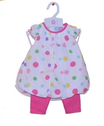 Just Too Cute 2-delig baby pakje tuniek en legging  RESTANT VERKOOP