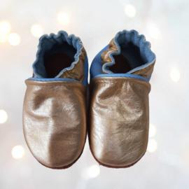 Babyslofjes Frozen l.blauw