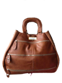 Design tas Ursula Cognac