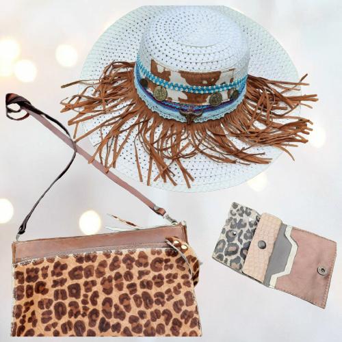 Ibiza hoed franje