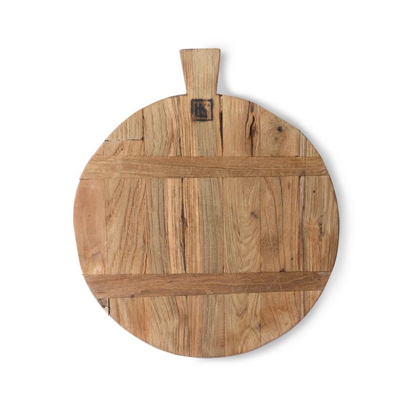 bread board reclaimed teak medium
