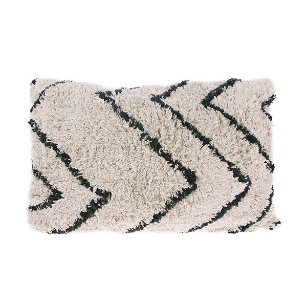 cotton zigzag cushion (40x60)