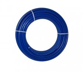 Tubipex Diameter 16 Rol 50 meter (bl) - Met 9 mm Isolatie