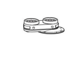 Vaillant adapter 80/80