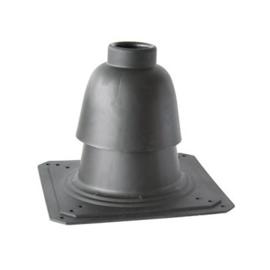 Schouwkap 80 mm voor vaste buis