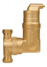 SpiroVent RV2 Microbellenafscheider 22 mm Knelkoppeling