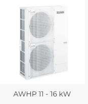 Remeha Neptuna E 16 kW Warmtepomp met elektrische bijverwarming