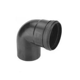 Rookgasafvoer PP 80 mm - Bocht 90°