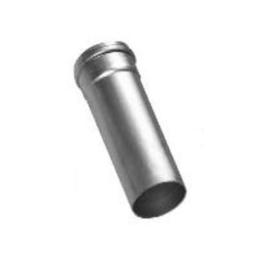 Rookgasafvoer ALU 80 mm - 0,5 meter