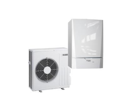 Remeha Neptuna E 11 kW Warmtepomp met elektrische bijverwarming