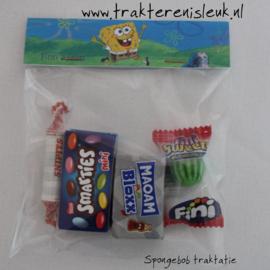 SpongeBob Snoepzak Traktatie