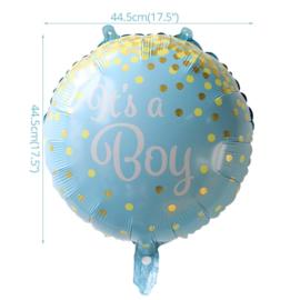 Geboorte Folie Ballon Jongen