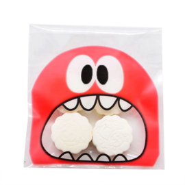 Monster rood snoepzakje