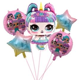 L.O.L Surprise Folie Ballonnen Set