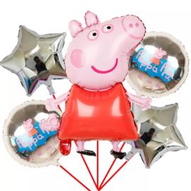 Peppa Pig Folie Ballon Motief 2