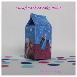 Frozen Melkpakje Traktatie