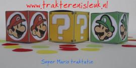 Super Mario Kubus Traktatie