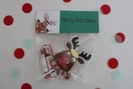 Rudolph de Red Nose Reindeer Lolly Traktatie