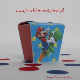 Super Mario Traktatie Doosje