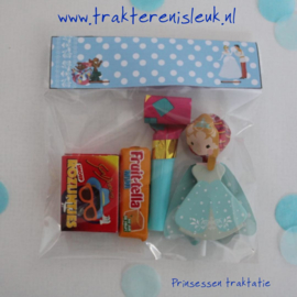 Prinses Lolly Traktatie Lichtblauw