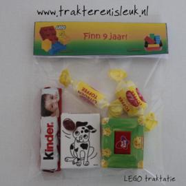 Lego Snoepzak Traktatie