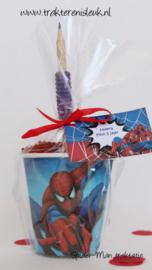 Spiderman Traktatie Beker