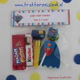 Superman Lolly Traktatie