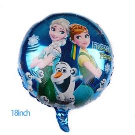 Frozen Folie Ballon Motief 1