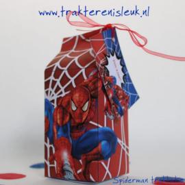 Spiderman Melkpakje Traktatie