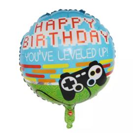 Happy Birthday Folie Ballon Motief 1