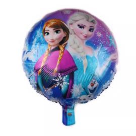Frozen Folie Ballon Motief 2