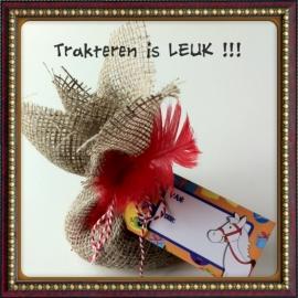 jute zak van Sinterklaas