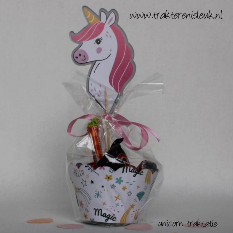 Unicorn Snoep Traktatie Motief 2