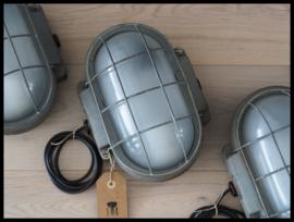 Industriële wandlamp, plafondlamp korflamp (2 beschikbaar)