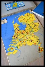Kent uw eigen land, historisch bordspel uit +/- 1940, fraai item!