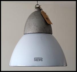 VERKOCHT! TOPSTUK! Super zeldzame emaille Philips lamp. Collectors item! (2 beschikbaar)