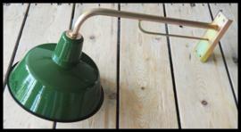Industriële wandlamp!