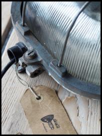 Industriële wandlamp, plafondlamp korflamp