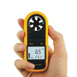 Windmeter Anemometer met temperatuurmeter