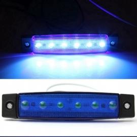 LED Contourverlichting 12V / 24V Blauw