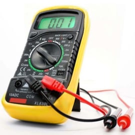 Digitale Multimeter met Backlight
