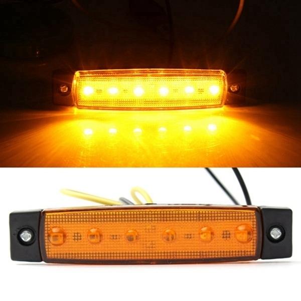 LED Contourverlichting 12V / 24V Oranje