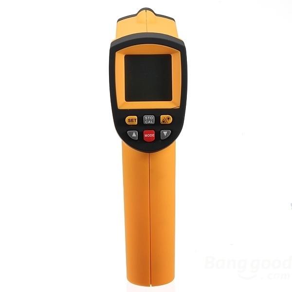 IR Thermometer -50C tot 900C met koffer